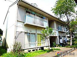 福岡県古賀市日吉2丁目の賃貸アパートの外観