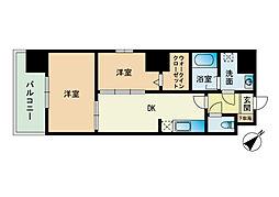 モダンパラッツォ博多駅南II[3階]の間取り