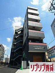 千葉県千葉市中央区新千葉1丁目の賃貸マンションの外観
