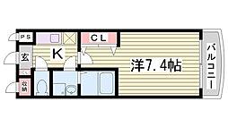サンモールアベニュー[5階]の間取り