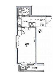 ジプソフィラ板橋本町[3階]の間取り