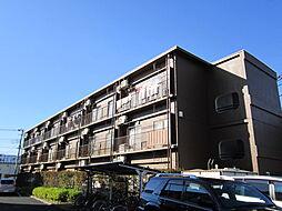 東京都府中市本宿町4丁目の賃貸マンションの外観
