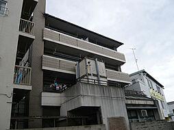 広島県広島市西区福島町1丁目の賃貸マンションの外観