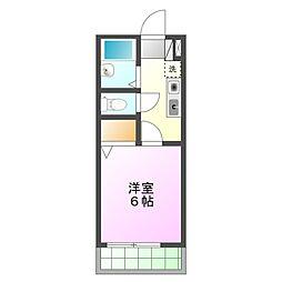 プリムメゾン[2階]の間取り