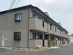 京都府久世郡久御山町佐山栗ノ脇の賃貸アパートの外観