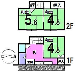 北加賀屋駅 450万円