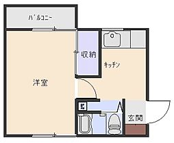 アルテハイツ[2階]の間取り