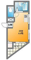 トリル日本橋[2階]の間取り