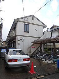 京都府京都市北区紫野下柳町の賃貸アパートの外観