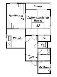 第一本郷ビル[4階]の間取り