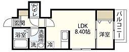 MOVE府中浜田壱番館[2階]の間取り