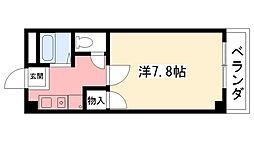 ドムール若山[2階]の間取り