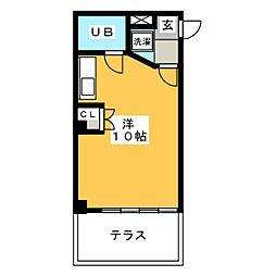 シティコーポ田口[1階]の間取り