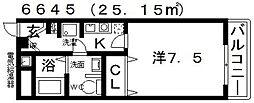 春日丘・Iマンション[303号室号室]の間取り