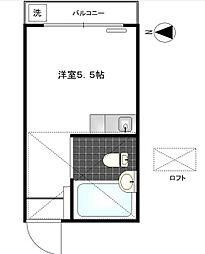 フォーシム三軒茶屋[2階]の間取り