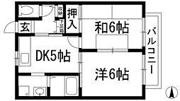 サモワールド[1階]の間取り