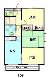 Villakooyama[306号室]の間取り