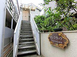 東京都大田区中央6丁目の賃貸アパートの外観