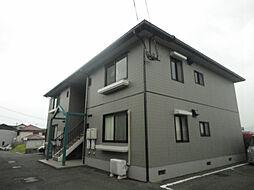 福岡県北九州市若松区童子丸2の賃貸アパートの外観
