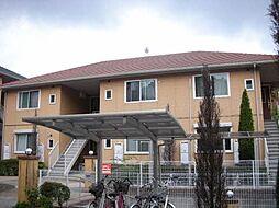福岡県福岡市博多区月隈6丁目の賃貸アパートの外観