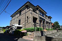 愛知県あま市上萱津上野の賃貸アパートの外観