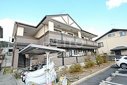 京都府京都市左京区岩倉幡枝町の賃貸マンションの外観
