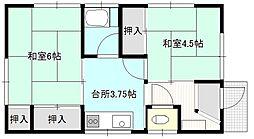川名アパートII[2F号室]の間取り