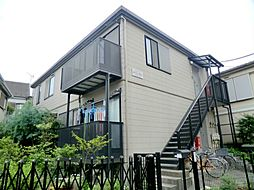 東京都大田区西蒲田6丁目の賃貸アパートの外観