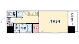 大阪府大阪市西区靭本町1丁目の賃貸マンションの間取り