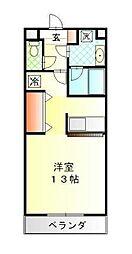ハイトピア横浜[3階]の間取り