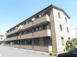リビングタウン鍵山B棟[3階]の外観
