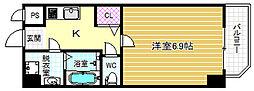 リエトコート福島[3階]の間取り