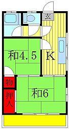 山喜本社ビル[3階]の間取り