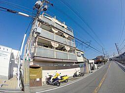 兵庫県宝塚市売布2丁目の賃貸マンションの外観