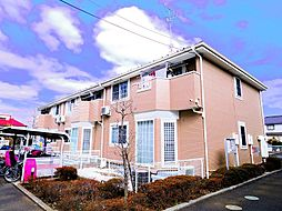 東京都清瀬市下清戸2丁目の賃貸アパートの外観