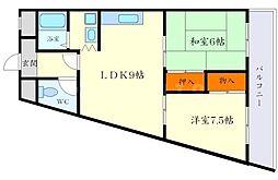 セントラルコート1[5階]の間取り