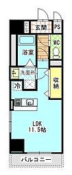 Mondo Fuji 3[3階]の間取り
