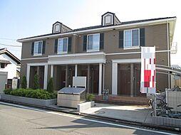 栃木県宇都宮市六道町の賃貸アパートの外観