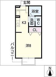 セジュールフジタIII[1階]の間取り