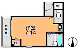 T.M.Oマンション[2階]の間取り