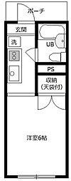 セントラルコーポF館[3階]の間取り