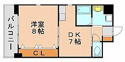 プレミール中村[6階]の間取り