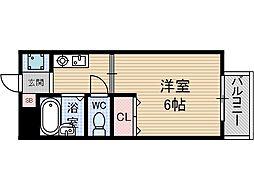 ハイムサンメイト[1階]の間取り