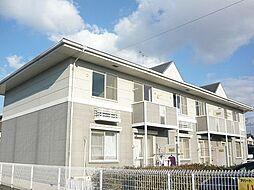 兵庫県姫路市飯田2丁目の賃貸アパートの外観