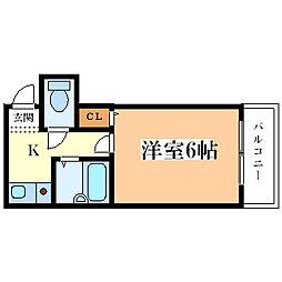 プルス御幣島[1階]の間取り