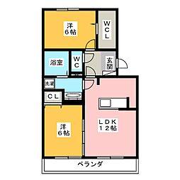 仮)D-room津田町[1階]の間取り