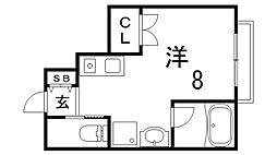 MONON CODE[1号室]の間取り