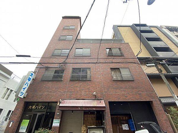 大平ハイツ 2階の賃貸【大阪府 / 大阪市中央区】