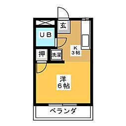 大森Uハウス[3階]の間取り