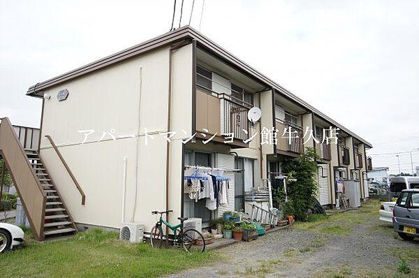 コーポ富士[106号室]の外観